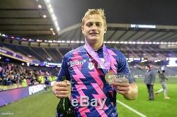 Maillot Rugby Rare #10 Plisson Stade Français Finale Challenge Cup 2017