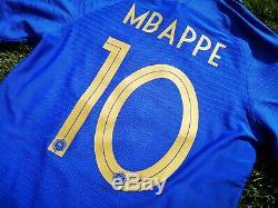 Maillot VAPORKNIT Mbappe Equipe de France VS Islande 25/03/2019 Centenaire FFF