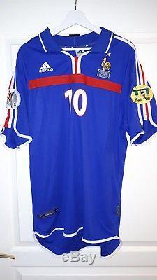 Maillot Zidane Equipe De France Finale Euro 2000