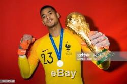 Maillot équipe de France 2018 A. AREOLA N°23 Préparé non porté Neuf PSG No OM