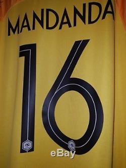 Maillot équipe de France 2018 MANDANDA N°16 Préparé non porté Neuf