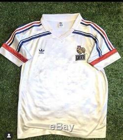 Maillot foot equipe de france 1986 Vintage