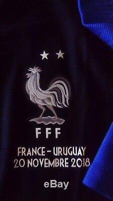 Maillot porté ou préparé worn Kante France Uruguay taille M