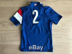 Maillot rugby XV France Guirado signé non porté no worn shirt jersey memorabilia