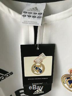 Maillot shirt REAL MADRID Beckham 2002-2003 Adidas BNWT (zidane france ronaldo)