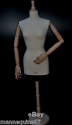 Mannequin Buste Femme Taille Small Vetement Vitrine Couture Made In France