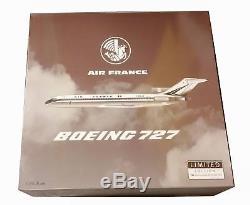 Maquette AIR FRANCE BOEING 727-200 en Métal F-BOJB au 1/200 Série Limitée 132 ex