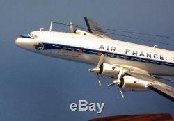 Maquette AIR FRANCE SUPER CONSTELLATION LOCKHEED 1049C F-BGNJ au 1/72