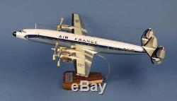 Maquette AIR FRANCE SUPER STARLINER L-1649A F-BHBL Rochambeau au 1/72