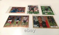 Mbappe Panini Rookie 22 New Rare Stickers Cards Psa 10! Very Rare Chromos
