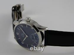 Montre CLASSIC BLACK SUNRAY 41mm PURE MECANIQUE Type Unitas 6498 SAPHIR watch