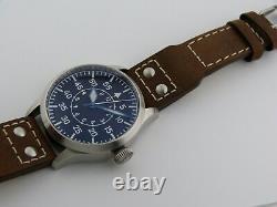 Montre Flieger Type B PURE MECANIQUE SEIKO NH35 B-Uhr pilot SAPHIR BGW9 41mm