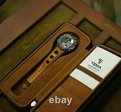 Montre YEMA chronographe YACHTINGRAF héritage neuve avec facture et boite