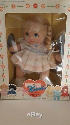 My child doll mattel en boite ul blonde platine Europe