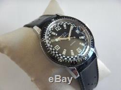 N. O. S. Stock Neuf 70 Montre Plongee Skin Diver 10 Atm Mod Remontage Manuel Fe140
