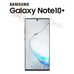 NEUF Samsung Galaxy Note 10 Plus (SM-N9750/DS) 256 Go Dual SIM Débloqué NOIR