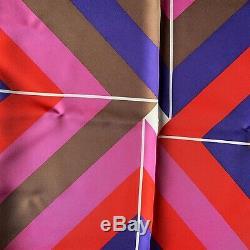 NEW / Foulard Carré Hermès / Hermes Scarf / Centered Rhyme / Lustig Cohen