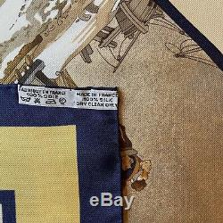 NIB / Foulard Hermès / Carré / Hermes Scarf / VOYAGE EN RUSSIE L. Dubigeon