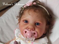 Neuf Bébé reborn baby kit AVA Cassie Brace Ed limitée Valana's Reborns