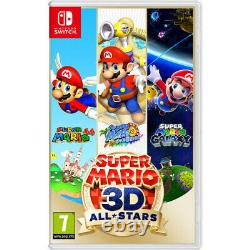 Nintendo Switch Édition Limitée Fortnite Préinstallé + Super Mario 3d All Stars