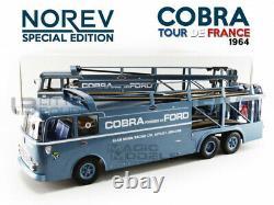 Norev 1/18 Fiat Bartoletti 306/2 Cobra At Tour De France 1964 187704