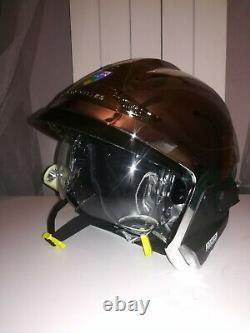 Nouveau casque Pompier F1 Xf Msa Gallet SDIS 06 ALPES-MARITIMES