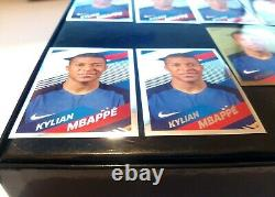 PANINI MBAPPE 2018 Rookie WORLD CUP X 10 STICKERS 9 SILVER + 1 GOLD NEW MINT