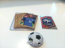 PANINI MBAPPE 2018 WORLD CUP X30 Rookie Gold Sticker #55 ABSOLUTE PERFECT