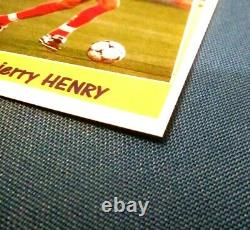 PANINI THIERRY HENRY ROOKIE X3 NIEUW MINT 10/10 1998 Wereldbeker Frankrijk 98