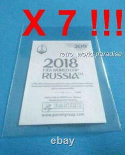 PANINI X 7 Kylian MBAPPE PSA 10 ROOKIE NEW 2018 World Cup Russia N° 209