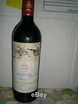 PAUILLAC-SUPERBE CHATEAU MOUTON ROTHSCHILD 2005 1er GCC