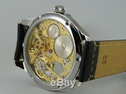 PIECE UNIQUE montre squelette 6498 ETA UNITAS Swiss Skeleton watch Uhr