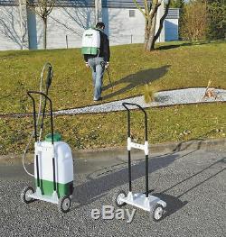 PULVERISATEUR ELECTRIQUE 16 L Sur Roues et à Dos batterie PILA16 PRP161DER