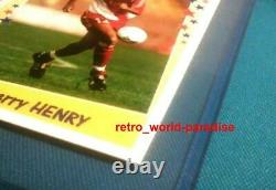 Panini Thierry Henry Monaco Superfoot 98 99 1998/99 ROOKIE 98 France psa 10