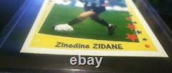 Panini Zidane 1997 1998 1999 Juventus New Very Rare Superfoot Supercalcio France