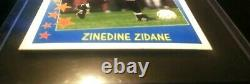 Panini Zidane 1997-98 Juventus Supercalcio New Mint 97 France Zizou