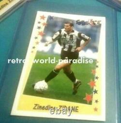 Panini Zidane New Rare! 1998 Zidane Juventus + France 98/99 Psa 10 Mint