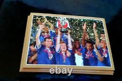 Panini Zidane X 30 World Cup France 98 Henry Team Gold Silver Euro 96 Limited Ed