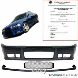 Parechoc Avant passe sur BMW E36 tous modelles + GT Spoiler M3 M Lip EV