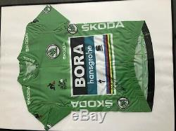 Peter sagan Green Jersey Tour De France 2018 Signed Collector