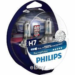 Philips Racing Vision RacingVision +150% H7 Ampoules de voiture (Paire)