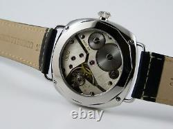 Piece Unique CARAVELLE 16OA Unitas 6498 pocket watch conversion