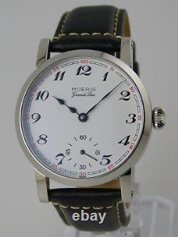 Piece Unique MOERIS UNITAS 6498 SWISS pocket watch conversion 41mm