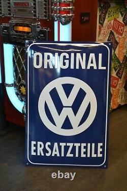 Plaque émaillée volkswagen vw enamel sign