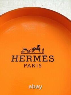 Plateau Hermès décoration luxe (style Baril Chanel lv Dior)