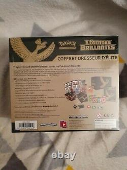 Pokemon Coffret Dresseur Elite, ETB, Ho-oh Légendes Brillantes. Neuf, Scellé FR