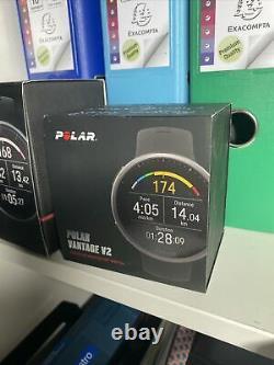 Polar Vantage V2 NOIR M/L Montre Course à Pied GPS Mixte (Montre et cable NEUFS)