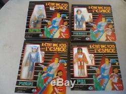 Popy IL Etait Une Fos L'espace Set Collector 4 Figures 2 Vehicules France 1981