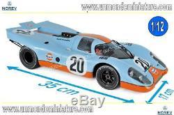 Porsche 917 K 2t4H France 1970 Siffert / Redman NOREV NO 127500 Echelle 1/12