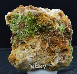 Pyromorphite 140 grammes Steinbach, Haut-Rhin, Alsace, France